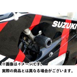 【エントリーで更にP5倍】アールアンドジー GSX-R750 スライダー類 クラッシュプロテクター カラー:ホワイト R&G