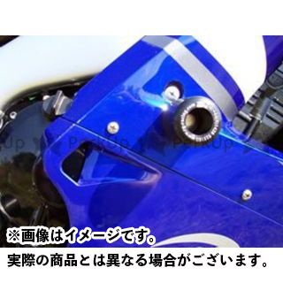 送料無料 アールアンドジー YZF-R1 スライダー類 クラッシュプロテクター ホワイト