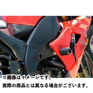送料無料 アールアンドジー ニンジャZX-10R スライダー類 クラッシュプロテクター ブラック