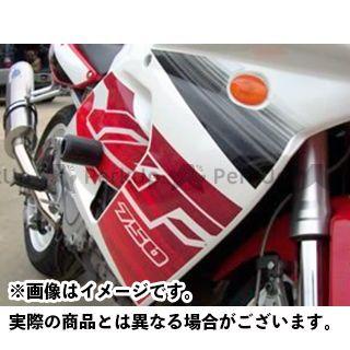 【エントリーで更にP5倍】アールアンドジー YZF750R YZF750SP スライダー類 クラッシュプロテクター カラー:ホワイト R&G