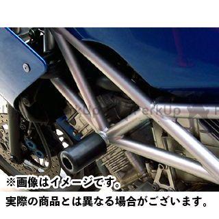 【エントリーで更にP5倍】アールアンドジー TRX850 スライダー類 クラッシュプロテクター カラー:ホワイト R&G