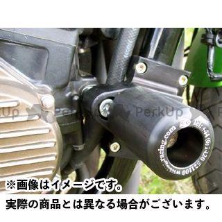 アールアンドジー ZRX1100 ZRX1200R スライダー類 クラッシュプロテクター カラー:ブラック R&G