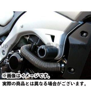 【エントリーで更にP5倍】アールアンドジー GSR400 GSR600 スライダー類 クラッシュプロテクター(ブラック) R&G