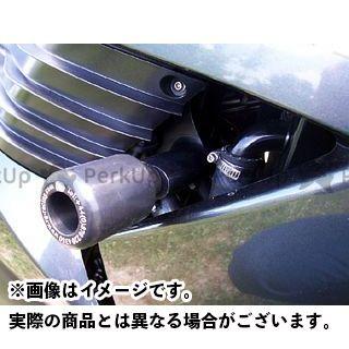 アールアンドジー ZZR1400 スライダー類 クラッシュプロテクター カラー:ホワイト R&G