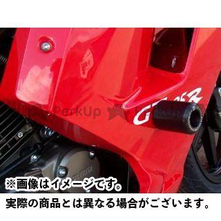 アールアンドジー GT125R スライダー類 クラッシュプロテクター(ブラック) R&G