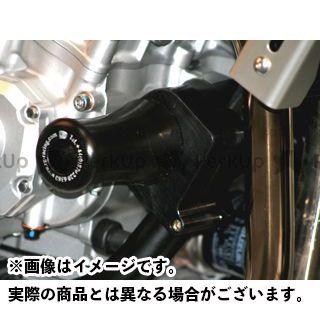 アールアンドジー バンディット1250S バンディット650 スライダー類 クラッシュプロテクター(ブラック) R&G