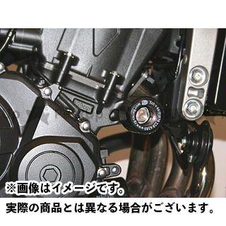 【エントリーで更にP5倍】アールアンドジー CBF600F CBF600S ホーネット600 スライダー類 クラッシュプロテクター カラー:ブラック R&G