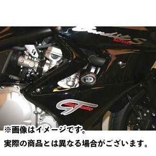 アールアンドジー バンディット1250 スライダー類 クラッシュプロテクター(ブラック) R&G