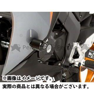 アールアンドジー CBR125R スライダー類 エアロクラッシュプロテクター(ブラック) R&G