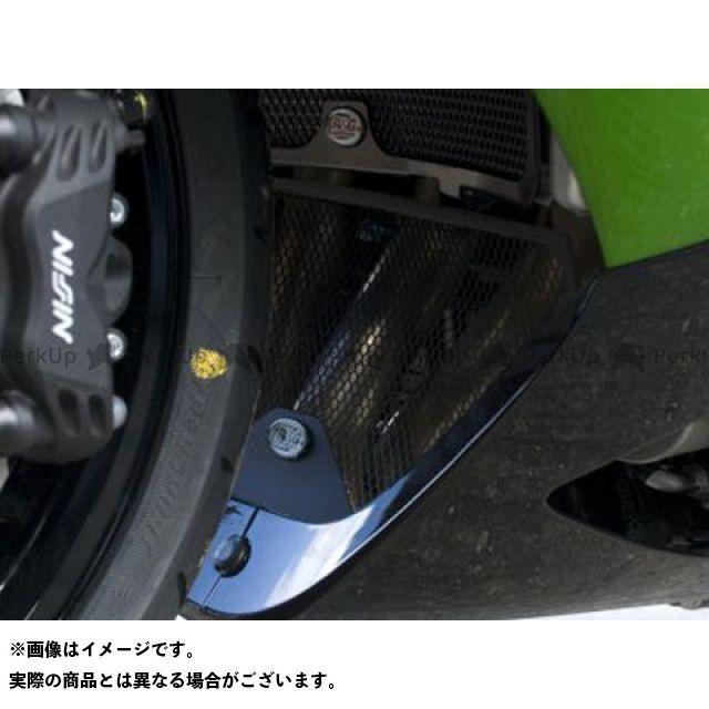 アールアンドジー ニンジャZX-14R ドレスアップ・カバー ダウンパイプグリル ブラック R&G