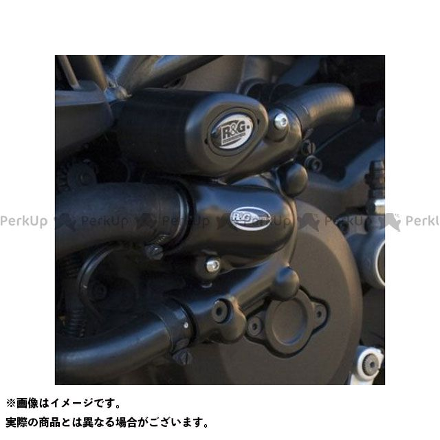 【エントリーで更にP5倍】アールアンドジー ディアベル エンジンカバー関連パーツ ウォーターポンプカバー(左側) R&G