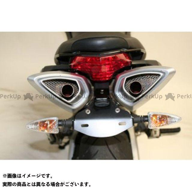 【エントリーで最大P21倍】アールアンドジー シバー750 フェンダー フェンダーレスキット(ブラック) R&G
