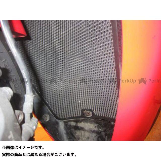 送料無料 アールアンドジー CBR1000RRファイヤーブレード ラジエター関連パーツ ラジエターガード(ブラック)