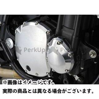 YAMAMOTO RACING CB1300スーパーフォア(CB1300SF) エンジンカバー関連パーツ CB1300SF SPEC-A ライトエンジンカバー カラー:シルバー ヤマモトレーシング