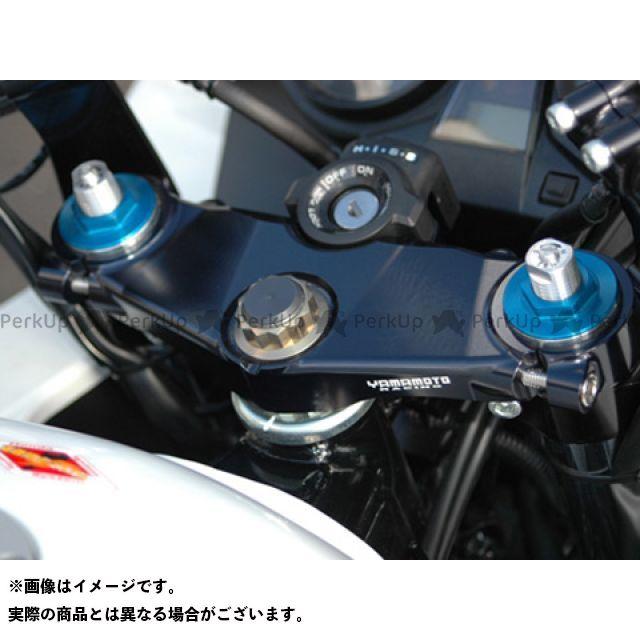 YAMAMOTO RACING CB1300スーパーフォア(CB1300SF) CB400スーパーボルドール トップブリッジ関連パーツ 03~CB1300SF/SBチタンステムナット