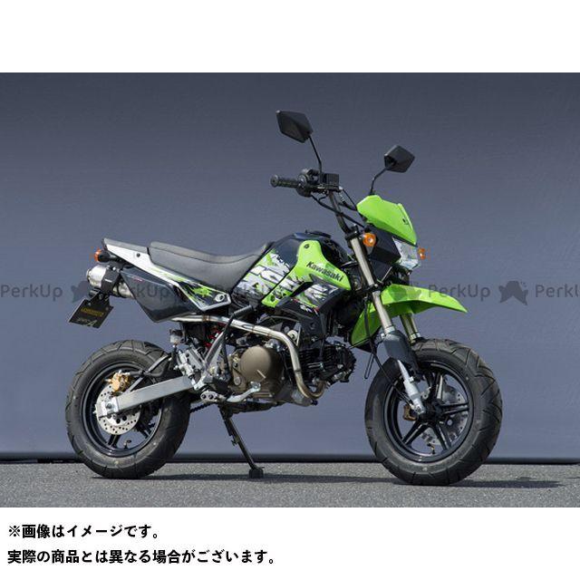 【エントリーで更にP5倍】YAMAMOTO RACING KSR110 マフラー本体 13~KSR110 SUS RS4-C チタン レース ヤマモトレーシング