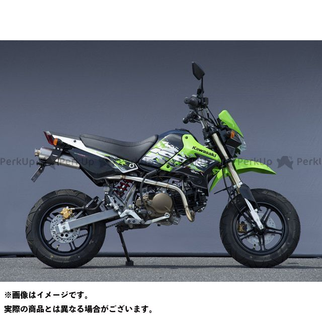 YAMAMOTO RACING KSR110 マフラー本体 13~KSR110 SUS RS4-C チタン ヤマモトレーシング