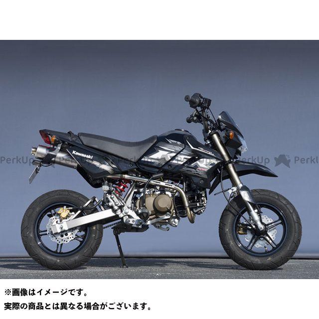 YAMAMOTO RACING KSR110プロ マフラー本体 14~KSR PRO SUS RS4-C チタン レース  ヤマモトレーシング