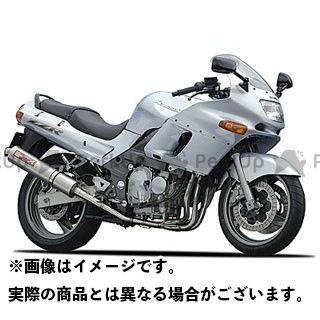 【エントリーで更にP5倍】YAMAMOTO RACING ZZR400 マフラー本体 ZZR400 SPEC-A ステンレス4-2-1 サイレンサー(触媒付き) 仕様:チタン ヤマモトレーシング