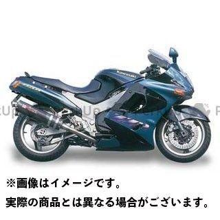 YAMAMOTO RACING ZZR1100 マフラー本体 ZZR1100 SPEC-A ステンレス4-2-1-2 サイレンサー 仕様:カーボン ヤマモトレーシング