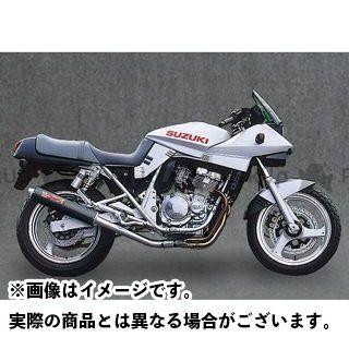 YAMAMOTO RACING GSX250Sカタナ マフラー本体 GSX250Sカタナ SPEC-A ステンレス4-1 サイレンサー カーボン