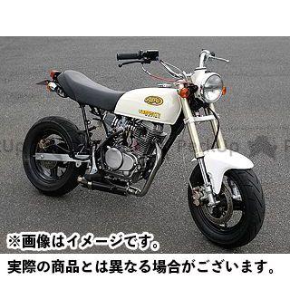 YAMAMOTO RACING エイプ100 マフラー本体 APE100 SUS DOWN II.Version チタン JMCA ヤマモトレーシング