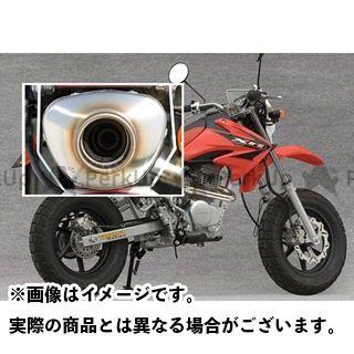 【エントリーで最大P23倍】YAMAMOTO RACING XR100モタード マフラー本体 XR100 SUS RS4-C100 TYPE-D JMCA ヤマモトレーシング