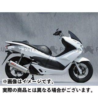 YAMAMOTO RACING PCX125 マフラー本体 12~PCX125 SPEC-A ステンレス 仕様:オーバル ヤマモトレーシング