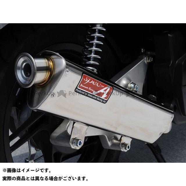 YAMAMOTO RACING PCX125 マフラー本体 PCX125 eSP SUS フルエキ 仕様:TYPE-S ヤマモトレーシング