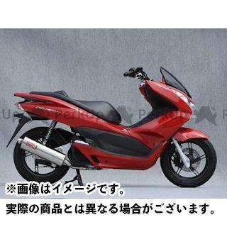YAMAMOTO RACING PCX150 マフラー本体 12~PCX150 SPEC-A ステンレス 仕様:オーバル ヤマモトレーシング