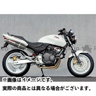 【エントリーで更にP5倍】YAMAMOTO RACING ホーネット マフラー本体 HORNET250 SPEC-A ステンレス4-1カーボンサイレンサー ヤマモトレーシング