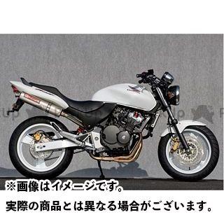 YAMAMOTO RACING ホーネット マフラー本体 HORNET250 SPEC-A ステンレス4-1チタンサイレンサー ヤマモトレーシング