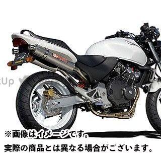 YAMAMOTO RACING ホーネット マフラー本体 HORNET250 SPEC-A ステンレス4-1-2 チタンサイレンサー(触媒付き) ヤマモトレーシング
