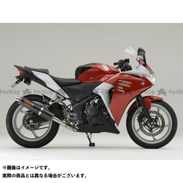 【エントリーで最大P23倍】YAMAMOTO RACING CBR250R マフラー本体 CBR250R SPEC-A スリップオン 仕様:カーボン ヤマモトレーシング