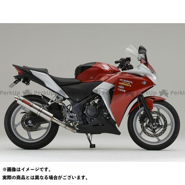 YAMAMOTO RACING CBR250R マフラー本体 CBR250R SPEC-A スリップオン 仕様:チタン ヤマモトレーシング