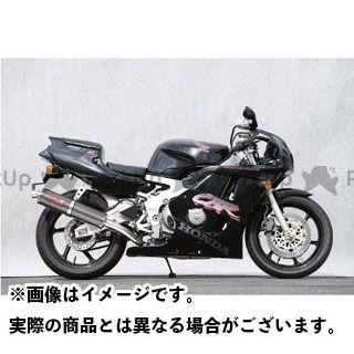 YAMAMOTO RACING CBR400RR マフラー本体 CBR400RR SPEC-A ステンレス4-1サイレンサー 仕様:カーボン ヤマモトレーシング