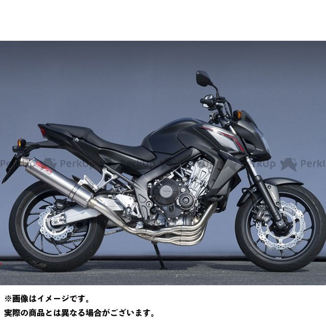 【エントリーで更にP5倍】YAMAMOTO RACING CB650F CBR650F マフラー本体 CB650F/CBR650F TI4-2-1 仕様:チタン ヤマモトレーシング