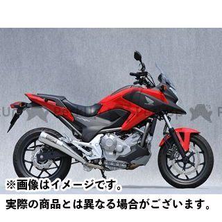 YAMAMOTO RACING NC700X マフラー本体 NC700X SPEC-A スリップオン 仕様:メガホン ヤマモトレーシング