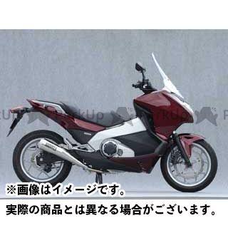 YAMAMOTO RACING インテグラ マフラー本体 インテグラ SPEC-A スリップオン メガホン ヤマモトレーシング