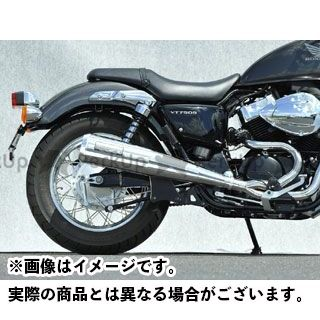 YAMAMOTO RACING VT750S マフラー本体 VT750S SPEC-A SUS2-1 仕様:メガホン ヤマモトレーシング