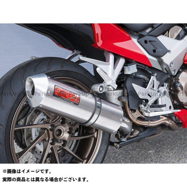YAMAMOTO RACING VFR800F マフラー本体 VFR800F SLIP-ON 仕様:オーバル ヤマモトレーシング