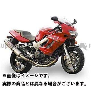 【エントリーでポイント10倍】 ヤマモトレーシング ファイアーストーム マフラー本体 VTR1000F SPEC-A チタン2-1チタンサイレンサー