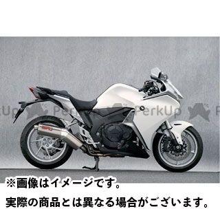 YAMAMOTO RACING VFR1200F マフラー本体 VFR1200F SPEC-A SLIP-ON TYPE-SS DOWN ヤマモトレーシング