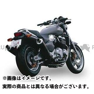 YAMAMOTO RACING エックスフォー マフラー本体 X-4 SPEC-A ステンレス4-2-1-2サイレンサー2本出し 仕様:カーボン ヤマモトレーシング