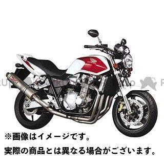YAMAMOTO RACING CB1300スーパーフォア(CB1300SF) マフラー本体 CB1300SF SPEC-A チタン4-1 ダウン チタン ヤマモトレーシング