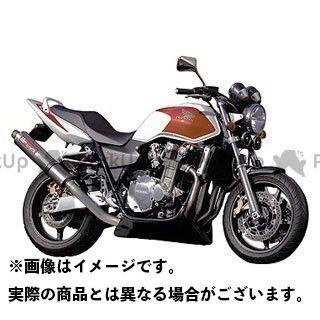 YAMAMOTO RACING CB1300スーパーフォア(CB1300SF) マフラー本体 CB1300SF SPEC-A チタン4-1 アップ チタン ヤマモトレーシング