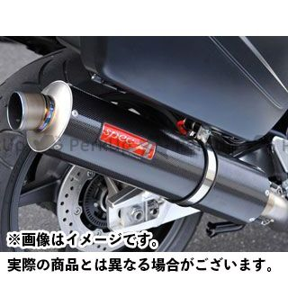 YAMAMOTO RACING CB1300スーパーツーリング マフラー本体 CB1300ST SPEC-A チタン4-1 カーボン ヤマモトレーシング