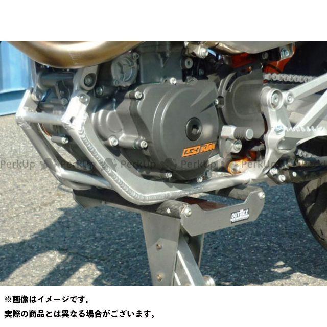 【特価品】OUTEX メンテナンススタンド KTM690SMC/SMCR リフトスタンド用アンダーフレーム アウテックス