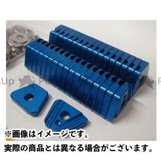 【無料雑誌付き】OUTEX ハブ・スポーク・シャフト KLX250/D-TRACKER/X/SB用 スポークブースター リア用 カラー:ブルーアルマイト アウテックス