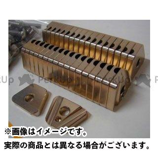 【無料雑誌付き】OUTEX Dトラッカー125 ハブ・スポーク・シャフト D-TRACKER125用 スポークブースター フロント用 カラー:ゴールドアルマイト アウテックス